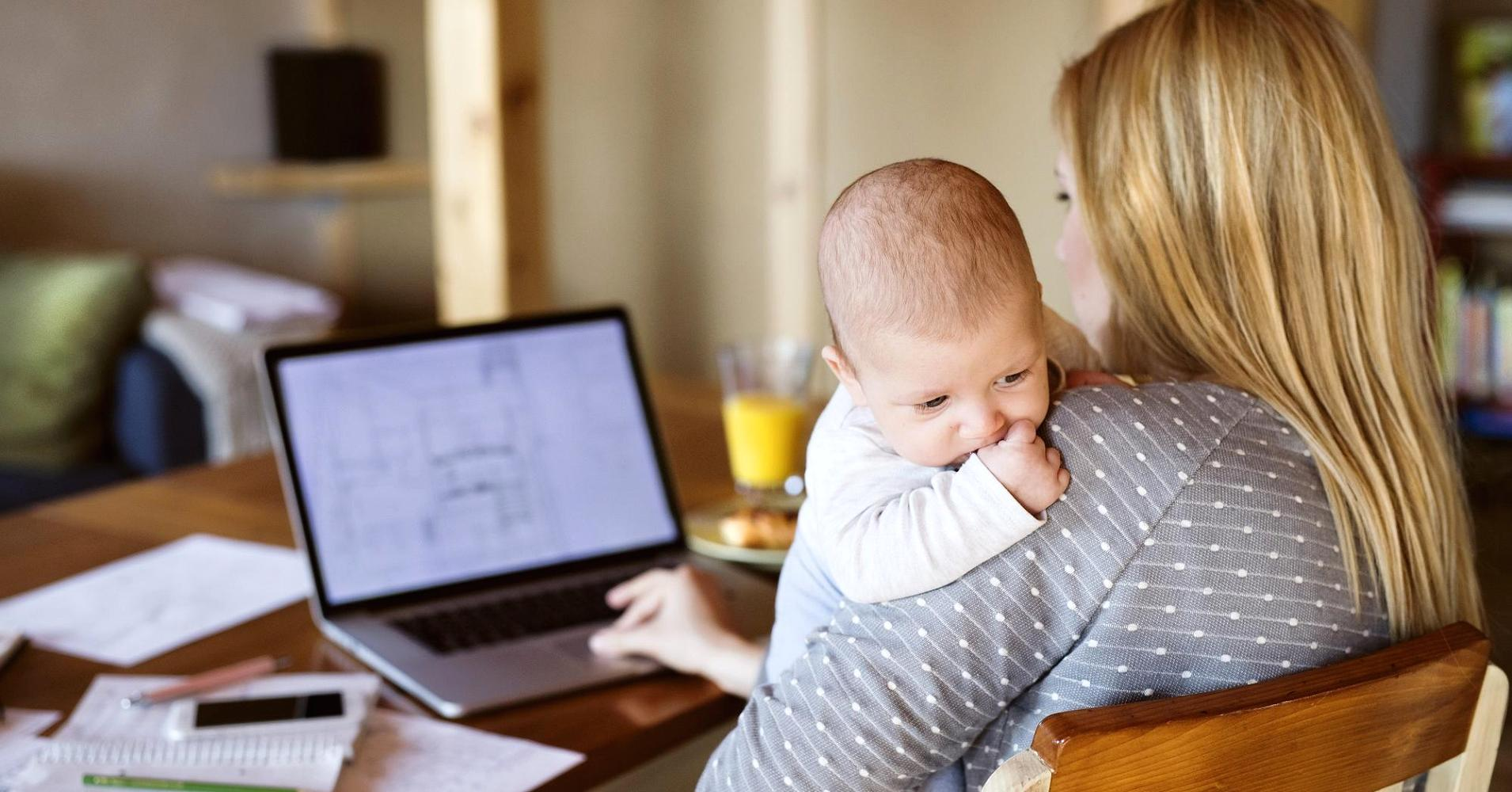 Çalışan-Anne