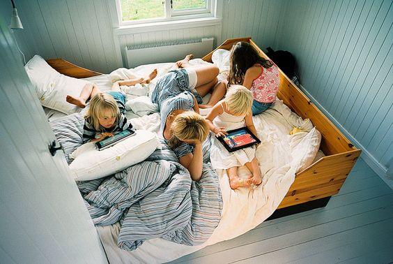 yatak-çocuk-aile